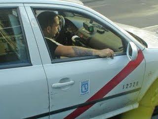 El jueves gran atascazo en Madrid, los taxistas a la calle.
