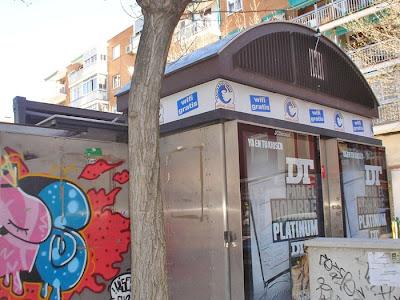 Wifi por las calles de Madrid