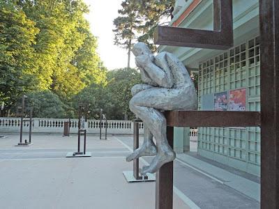 Exposición de escultura al aire libre en el Retiro