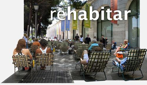 Exposición rehabitar en Nuevos Ministerios