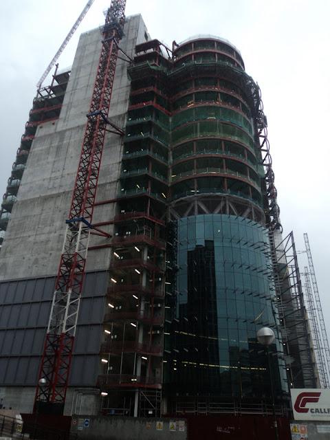 Como van las obras del Nuevo Windsor. Octubre de 2010.