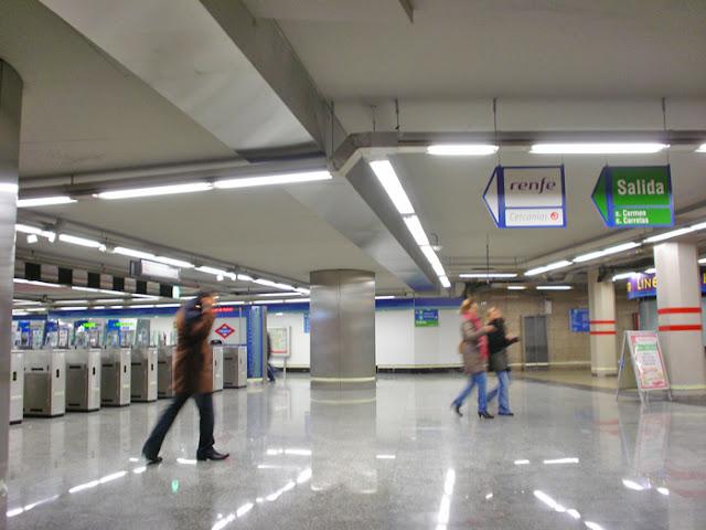 Nuevo vestíbulo en el Metro de Sol