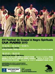 Festival Gospel and Negro Spirituals Caja Madrid 2010