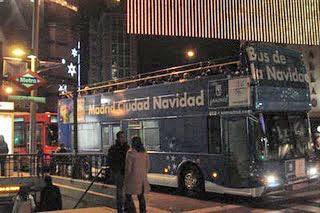 Navibús 2011- 2012 en Madrid. El Bús de la Navidad