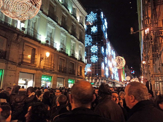 Navidades con niños en Madrid. Corte Inglés de Serrano y Goya.