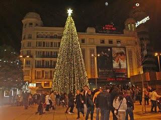 Los Árboles de Navidad de Madrid estas navidades