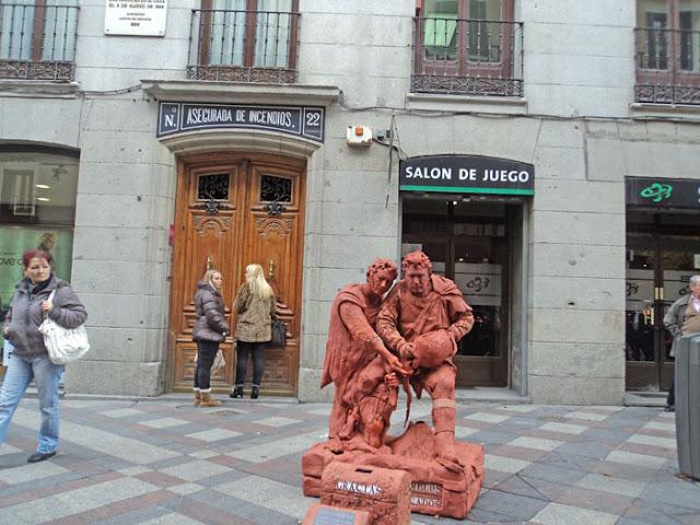 ¿ El mejor mimo de Madrid?