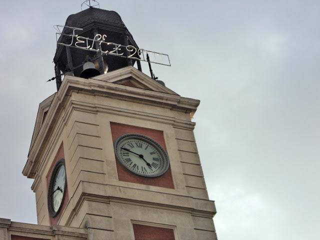 Hoy nuevo ensayo de las campanadas de Nochevieja 2011- 2012 en la Puerta del Sol