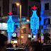 Planes de Navidad con niños en Madrid. Pista de patinaje sobre hielo y tobogán en la Plaza de la Luna