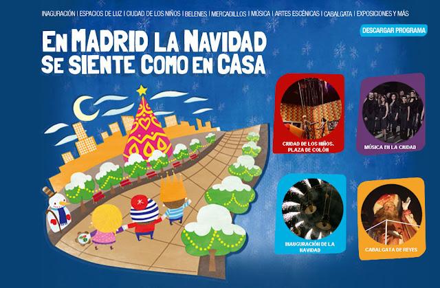 La Ciudad de los niños Madrid 2010. Navidad con niños en Madrid