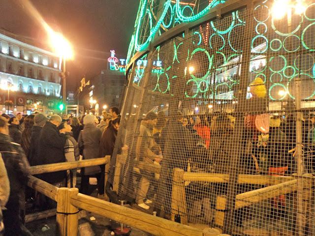 Campanadas de Nochevieja 2011- 2012 en Madrid