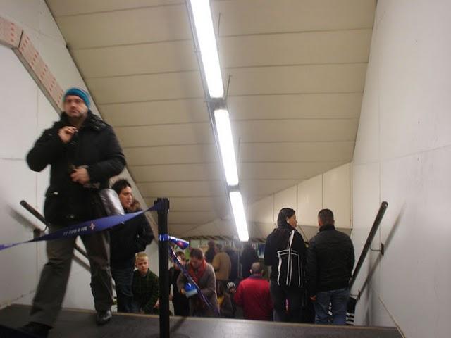 En Navidad en Madrid. Utiliza el Transporte público