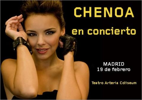 Concierto de Chenoa en el Festival Arteria Coliseum 2011