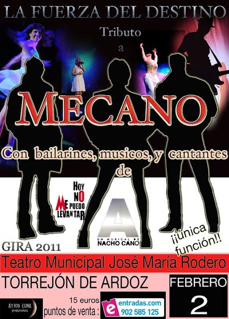Tributo a MECANO en Madrid
