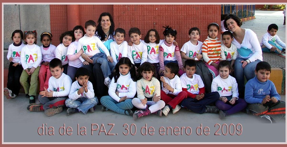 Rincón De Infantil Día De La Paz: EL RINCON DE LA MAESTRA: DÍA DE LA PAZ: 30 DE ENERO
