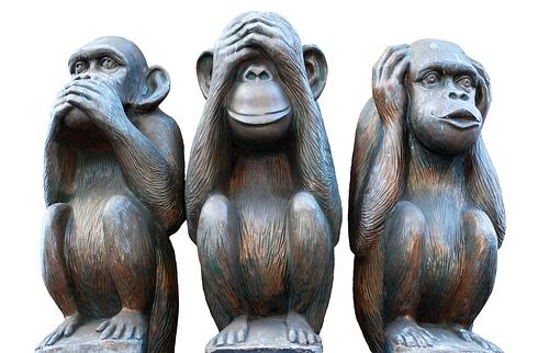 Image result for τρεις πίθηκοι