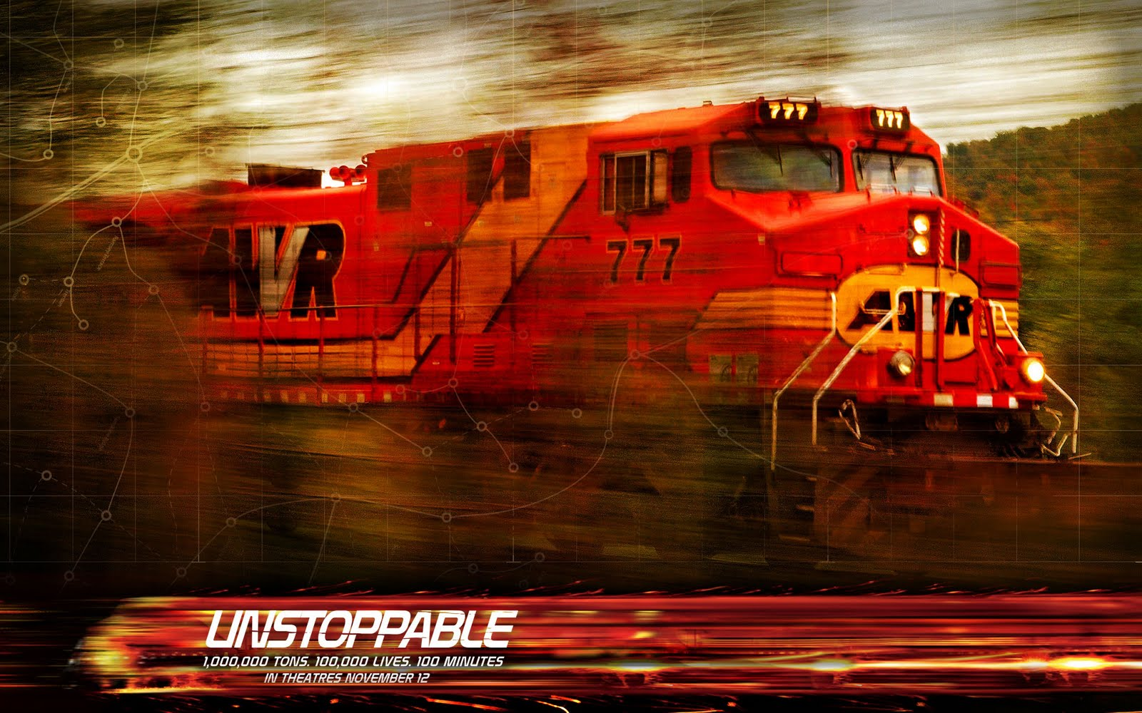 Milepost 154  A Train Blog  Unstoppable