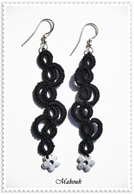 acquisto economico spedizione gratuita negozio online Nodi & Chiacchierino: Elwen - orecchini a chiacchierino (ad ago)
