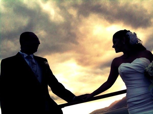 fotos de noivos no navio