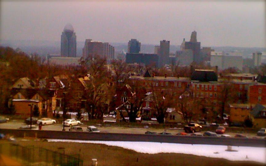 Hither & Yon: Cincinnati Viewed from Mt. Auburn