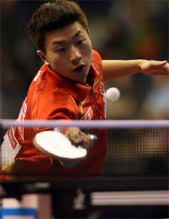 Ma Long simply superb in Berlin  Photo By: Ireneusz Kanabrodzki