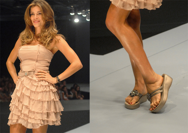 9079a7319 Azaleia apresentou sua coleção primavera verão com o brilho de Grazi  Massafera na passarela do Oscar Fashion Days