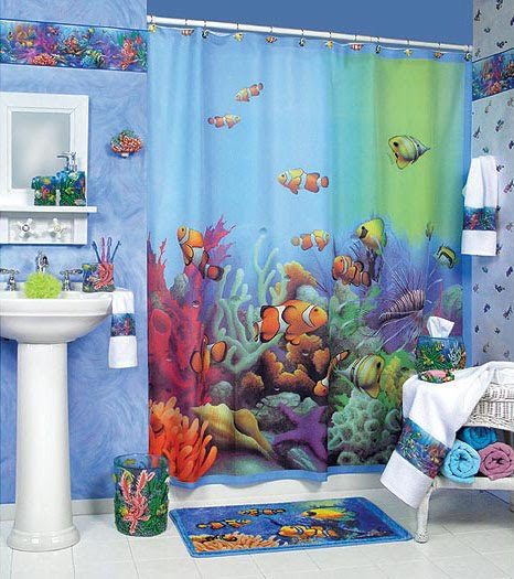 Bathroom decor bathroom decorating ideas ideas for - Ocean themed bathroom accessories ...