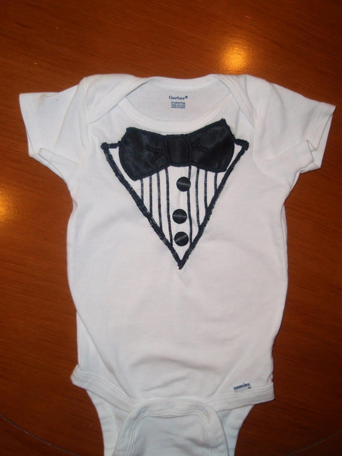 ecbace795dcd Oxford Impressions  Baby Boy Tuxedo Onesie