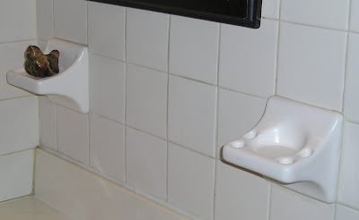 Easy Solution To Working With These Ceramic Holders In Your Bathroom Instead Of Ripping Them Out
