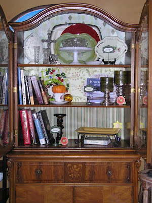 Charmant ... Really Put The Miles On, Cook Books, Decorating Books, Serving Platters  I Used A Lot, And Even Candles I Rotateu2026 And Placed It In Our New Sitting  Area.
