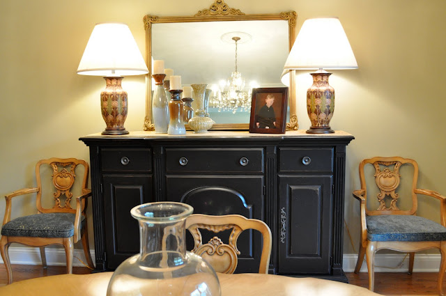 Make the space look inviting and put together by interior redesign and using what you have. IT's amazing to see the difference!