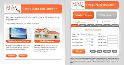 Meralco unveils appcal: appliance calculator – techsterr.