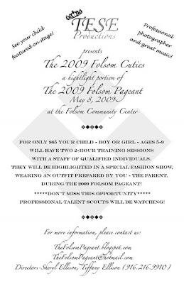 The Folsom Pageant: 2009 FOLSOM CUTIES