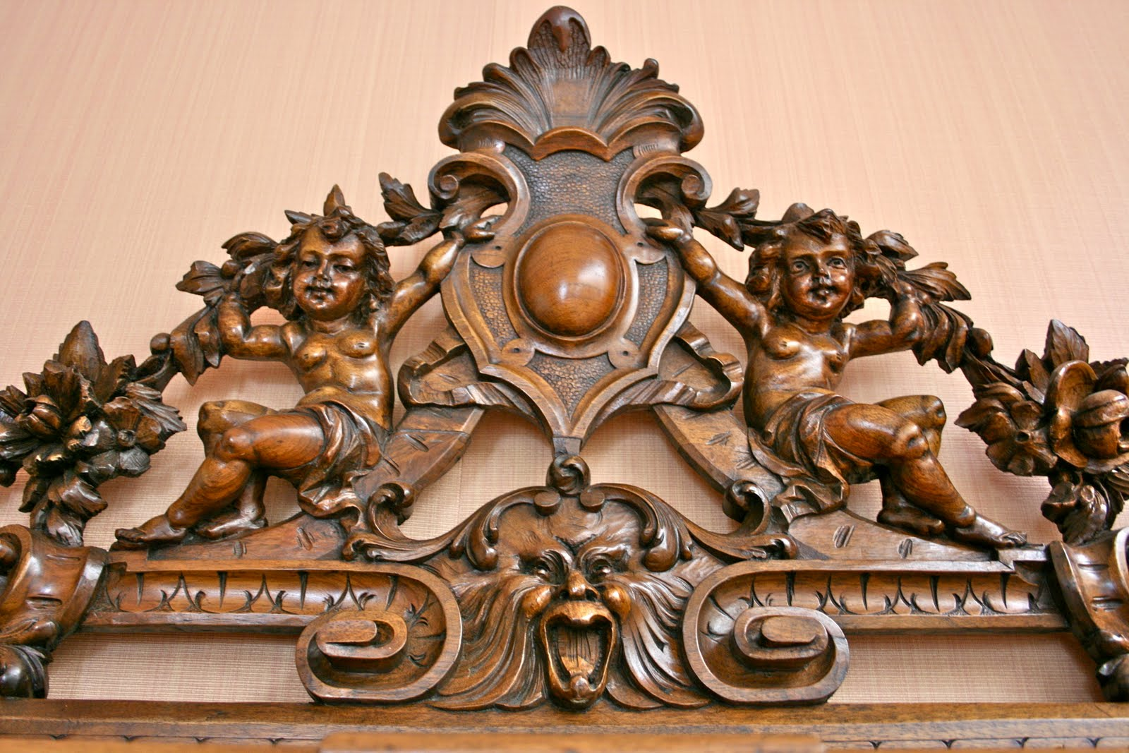 Carved Wood In Antique Furniture