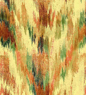 Gypsy Red: Ikat Patterned Nation