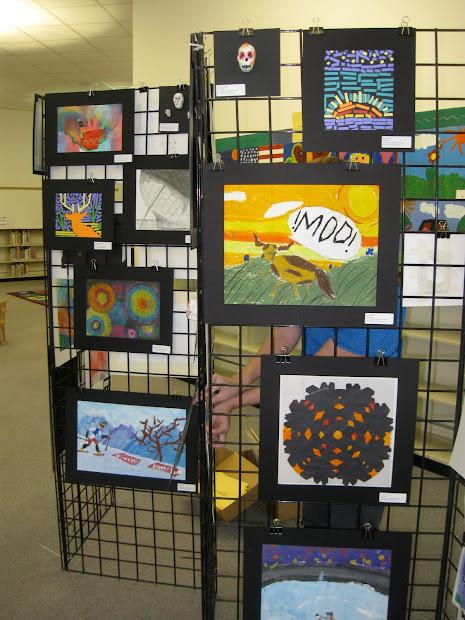 Art Studio Carlson Fwisd Elementary Show 2010