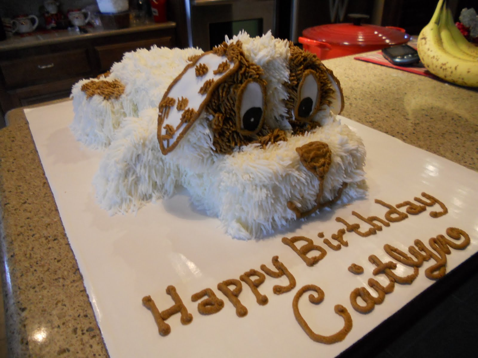 Treat Dreams Puppy Dog Cake