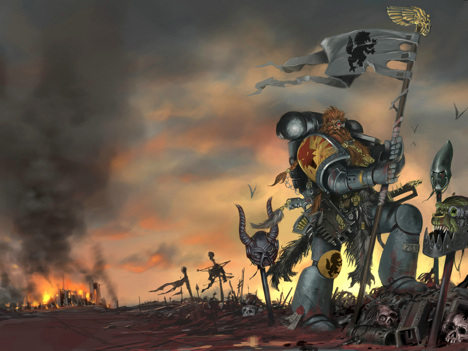 wallpaper warhammer 40k video - photo #31