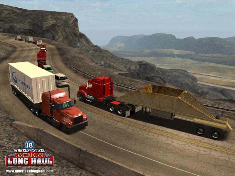 Road Car Games Review 18 Wheels Of Steel American Long Haul