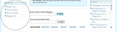Add Scrollbars to Blog Widgets
