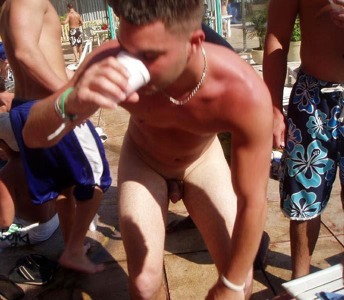naked spring break guys