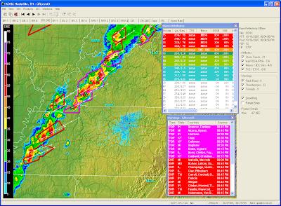 Bill's TN Paradise: Tornado Outbreak Underway in TN, KY tonight