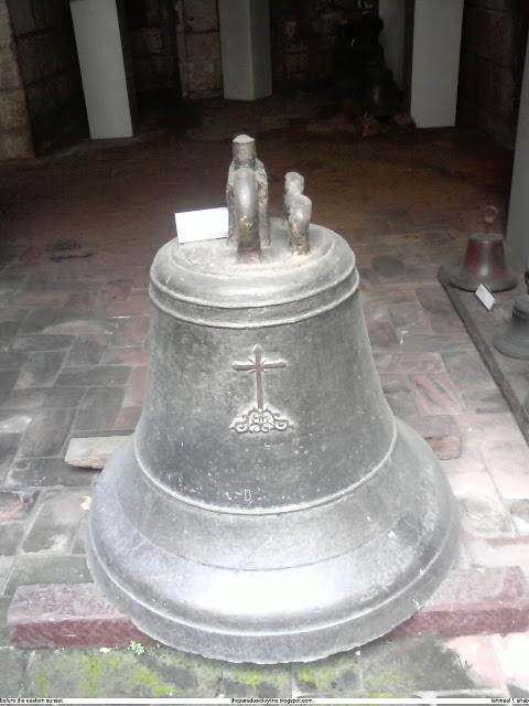 Spanish era bell in Intramuros