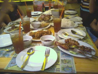 Our Food at Giligan's Trinoma