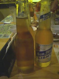 San Miguel Beer Light in Giligan's Trinoma