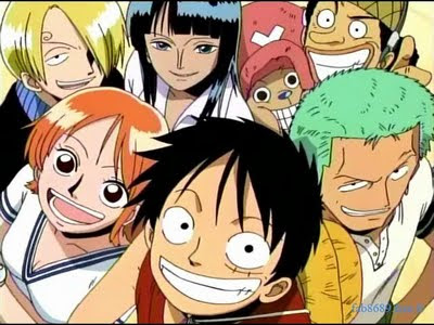 The Straw Hat crew