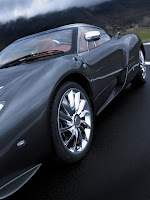 Spyker C12 Zagato Coupé 2010 tire detail