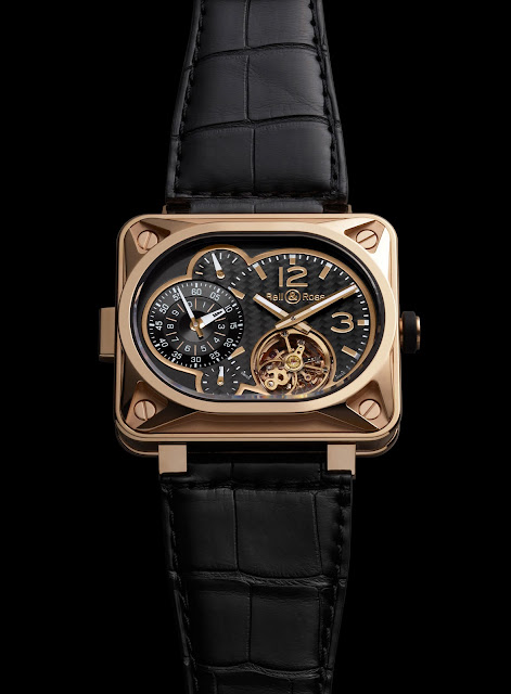 BR Minuteur tourbillon Pink gold Limited Edition to 30 pieces leather