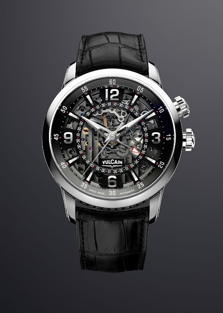 Vulcain Cricket Anniversary Automatic black
