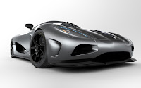 Koenigsegg Agera Super Car close up